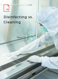disinfecting vs cleaning